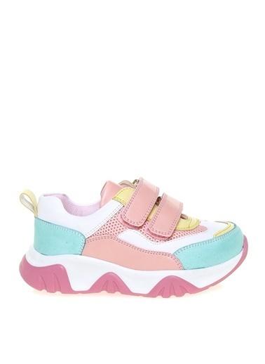 Limon Company Limon Kız Çocuk Beyaz- Pembe Yürüyüş Ayakkabısı Beyaz